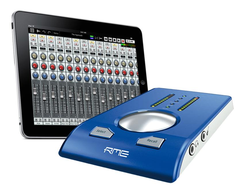 RME Babyface - iPad