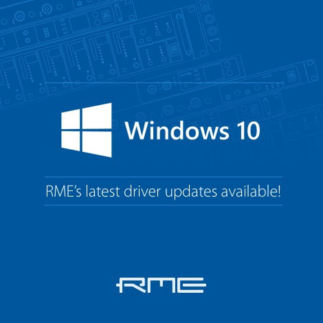 rme windows 10 drivers archives synthax audio. Black Bedroom Furniture Sets. Home Design Ideas