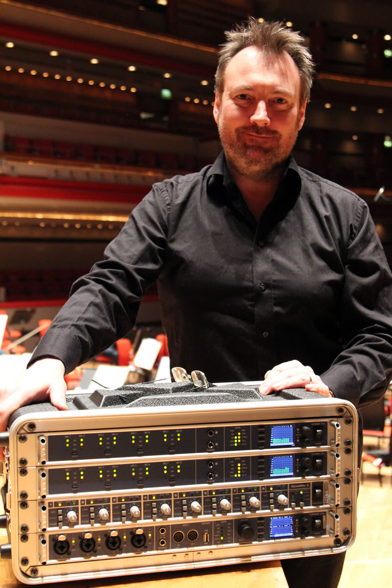 Phil Rowlands with RME - Synthax Audio UK.